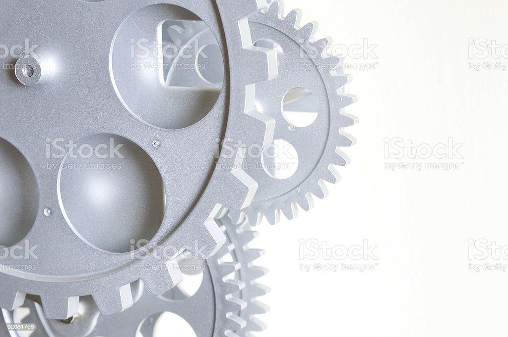 Intricate metallic Gears royalty-free stock photo