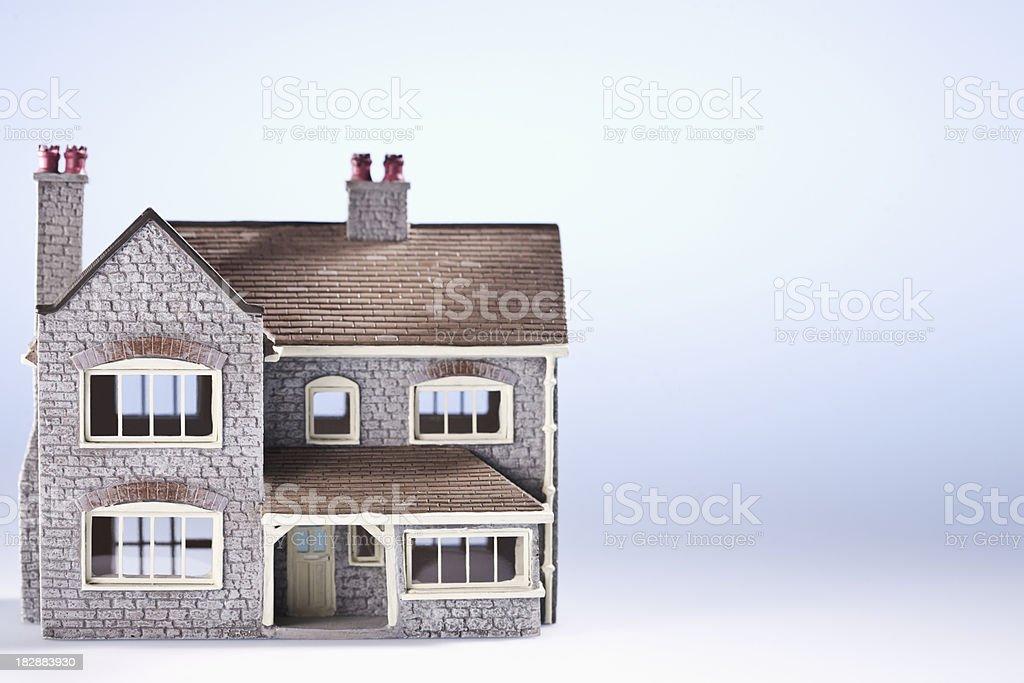 Intricate Miniature House stock photo