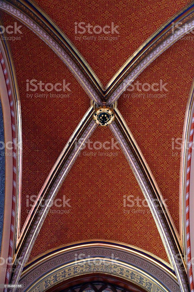 Intricate Red stock photo