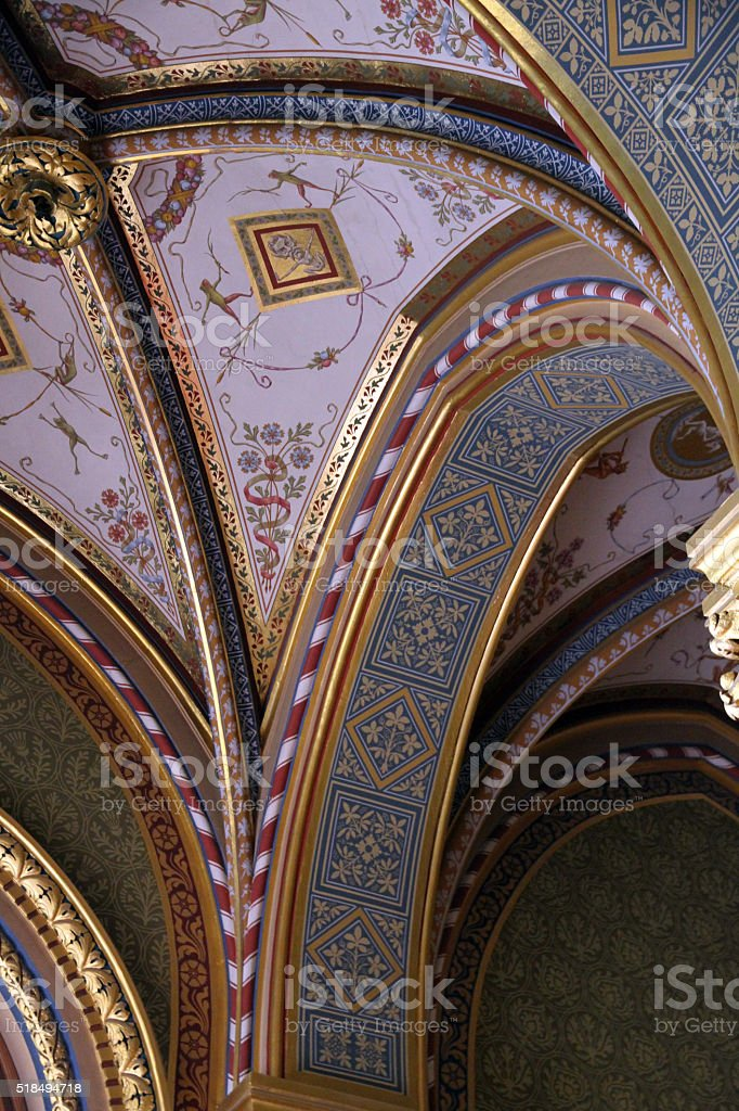 Intricate Roofing stock photo