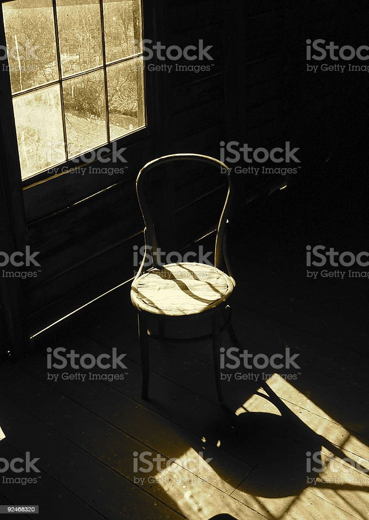Introspective Afternoon royalty-free stock photo