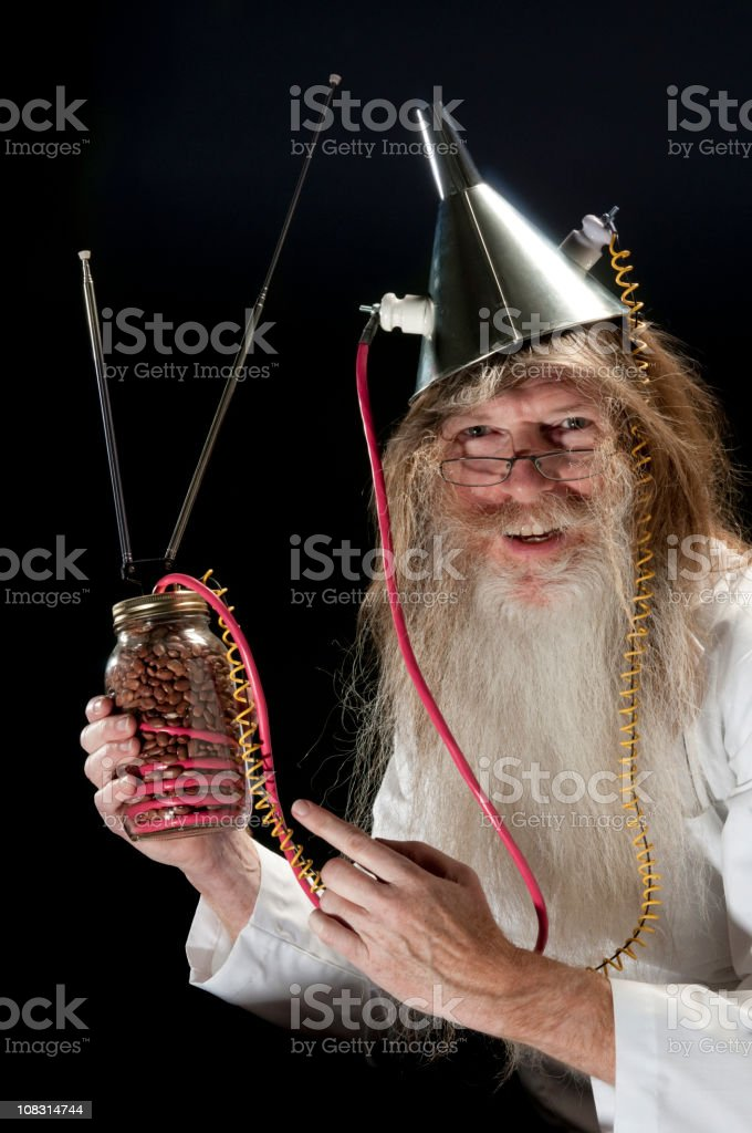 Inventor royalty-free stock photo