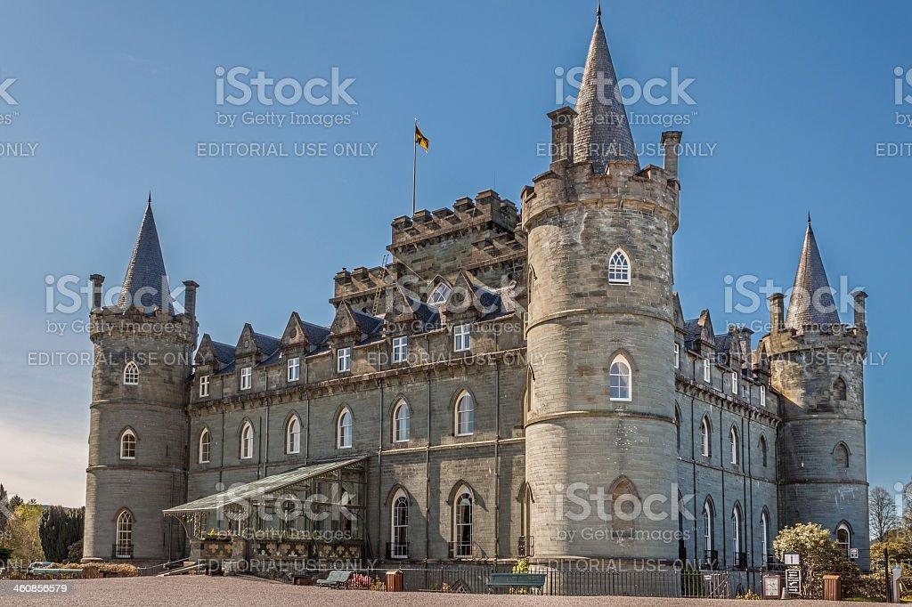 Inveraray Castle stock photo