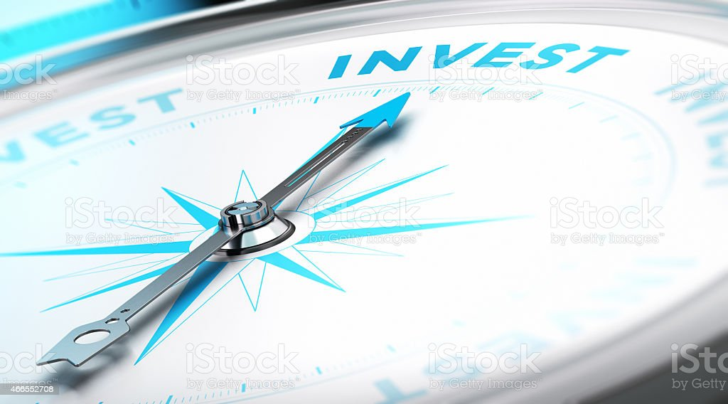 Invest Concept stock photo