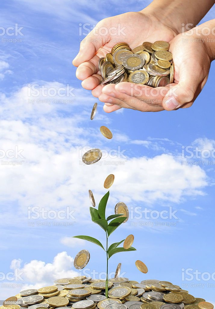 Invest concept royalty-free stock photo