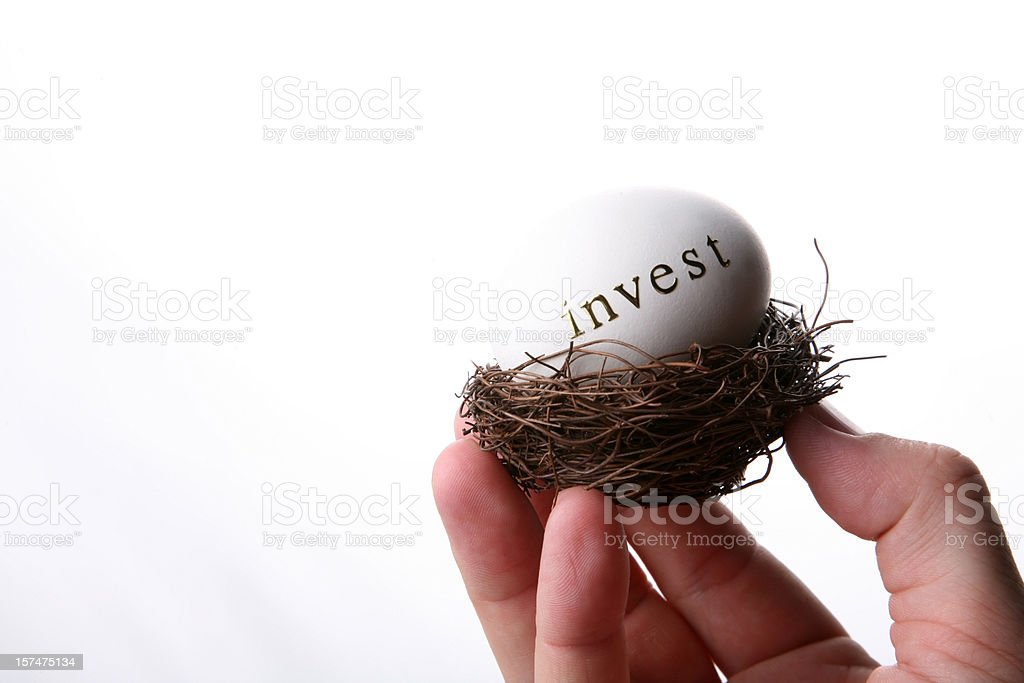 invest your money stock photo