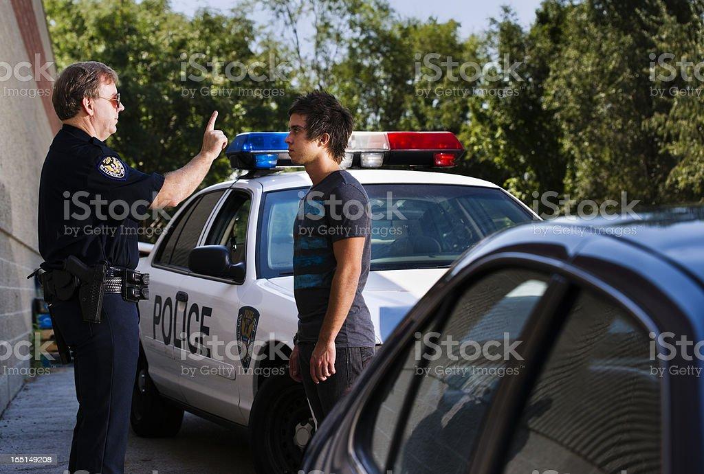 DUI Investigation stock photo