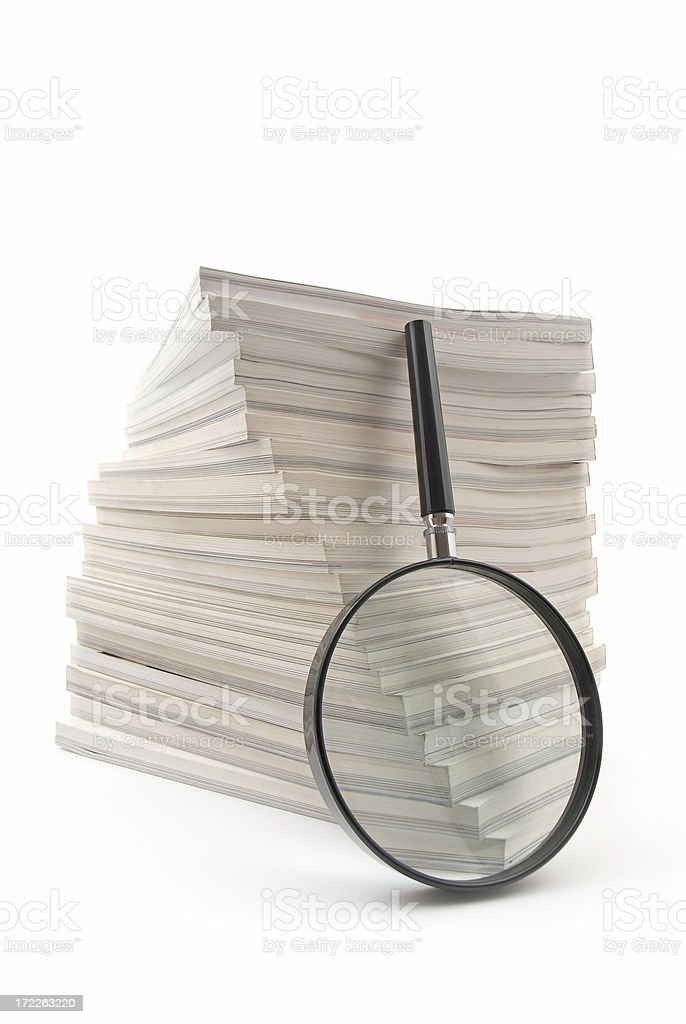 Investigation royalty-free stock photo