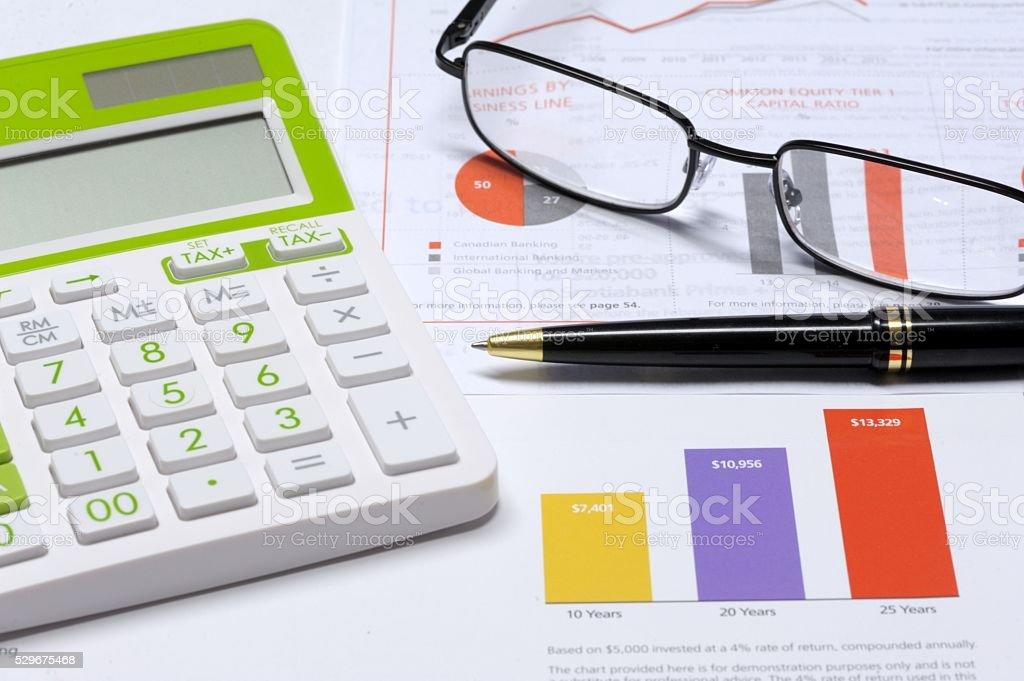 Investing Concept stock photo