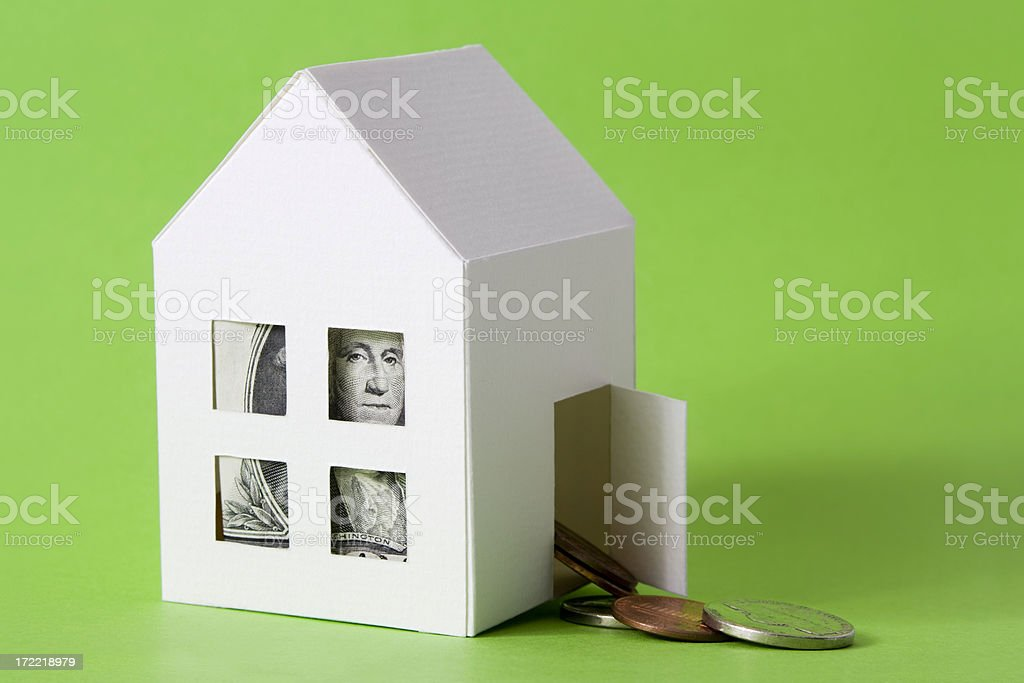 Investing in a house royalty-free stock photo
