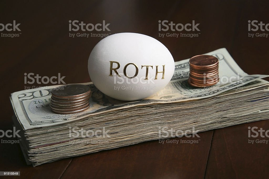 investing in a roth royalty-free stock photo
