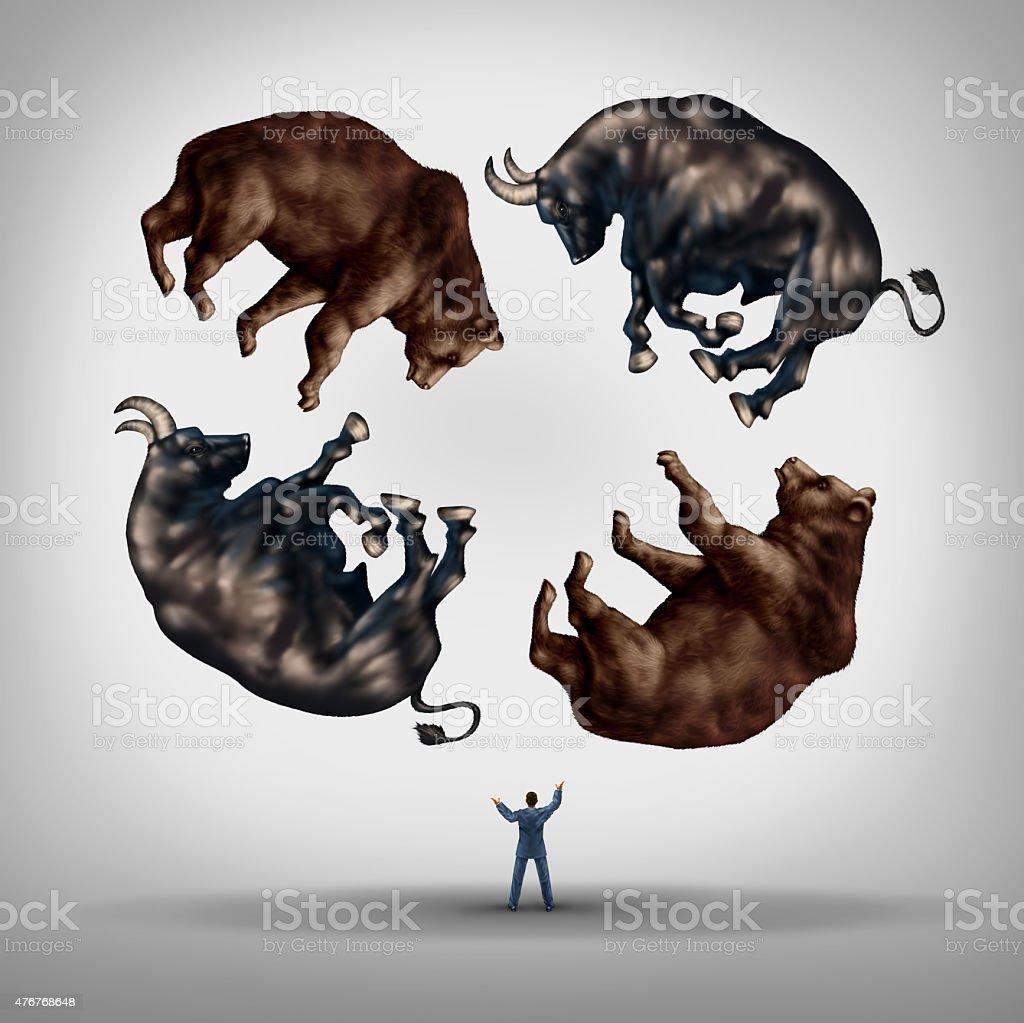 Investing In Stocks stock photo