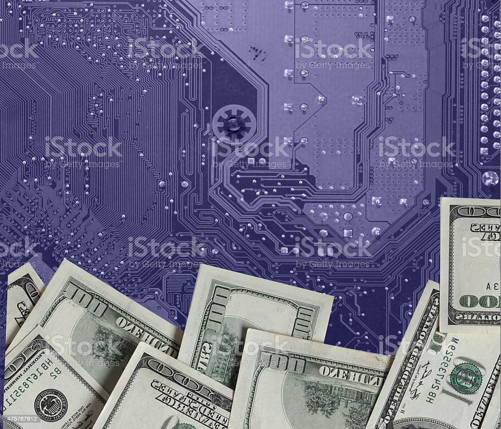 Investing in technology stock photo