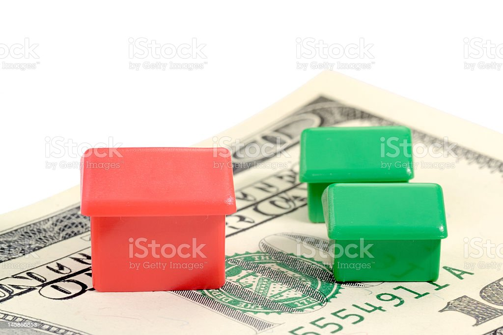 Investing on property royalty-free stock photo