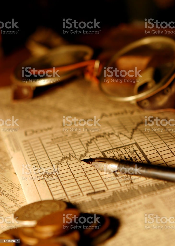 Investing - The Early Years royalty-free stock photo