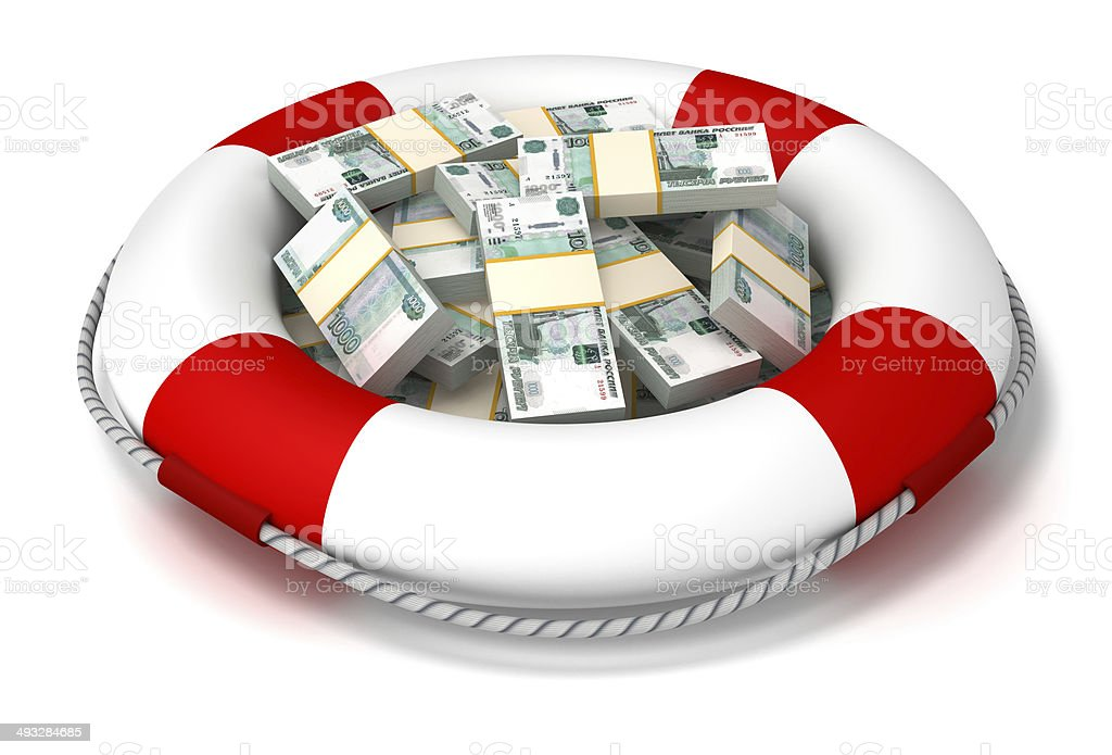 Investment and insurance. stock photo