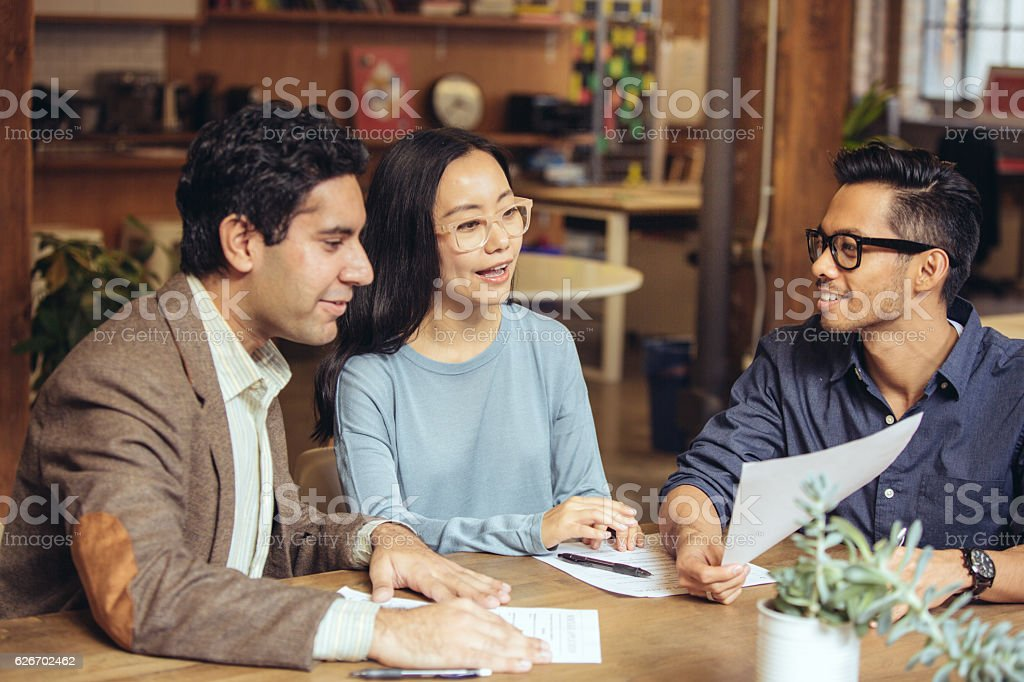 Investment and mortgage stock photo