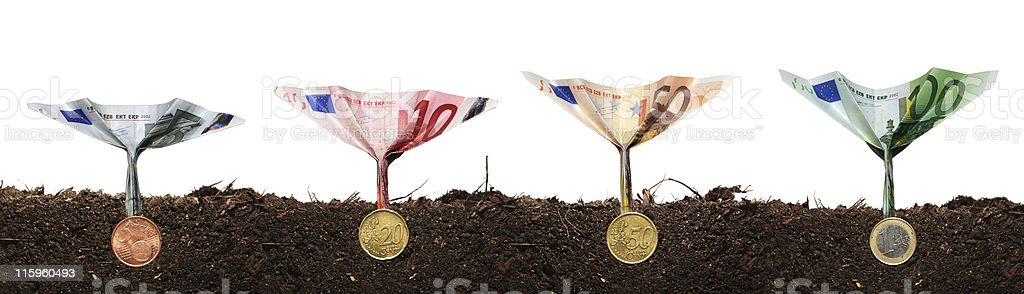 Investment concept 5 royalty-free stock photo