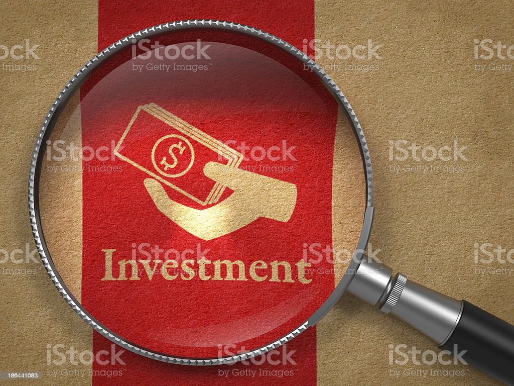 Investment Concept. royalty-free stock photo