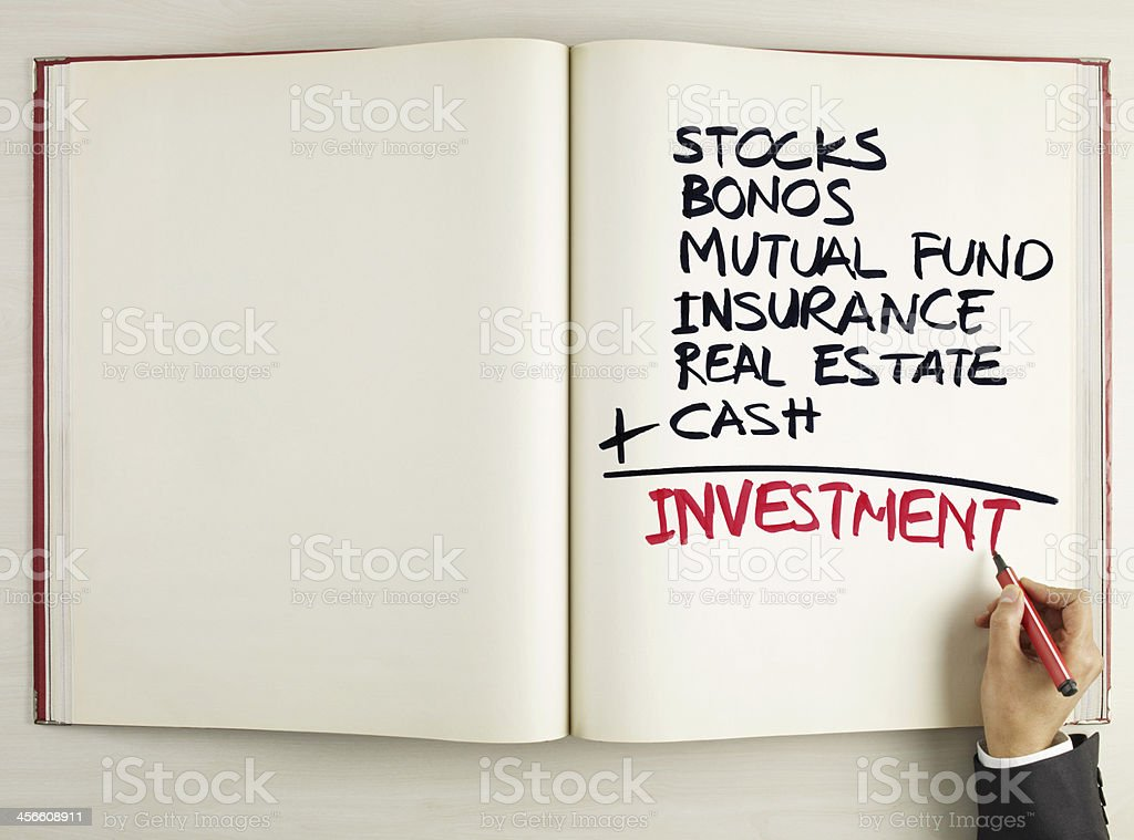 Investment Formula royalty-free stock photo