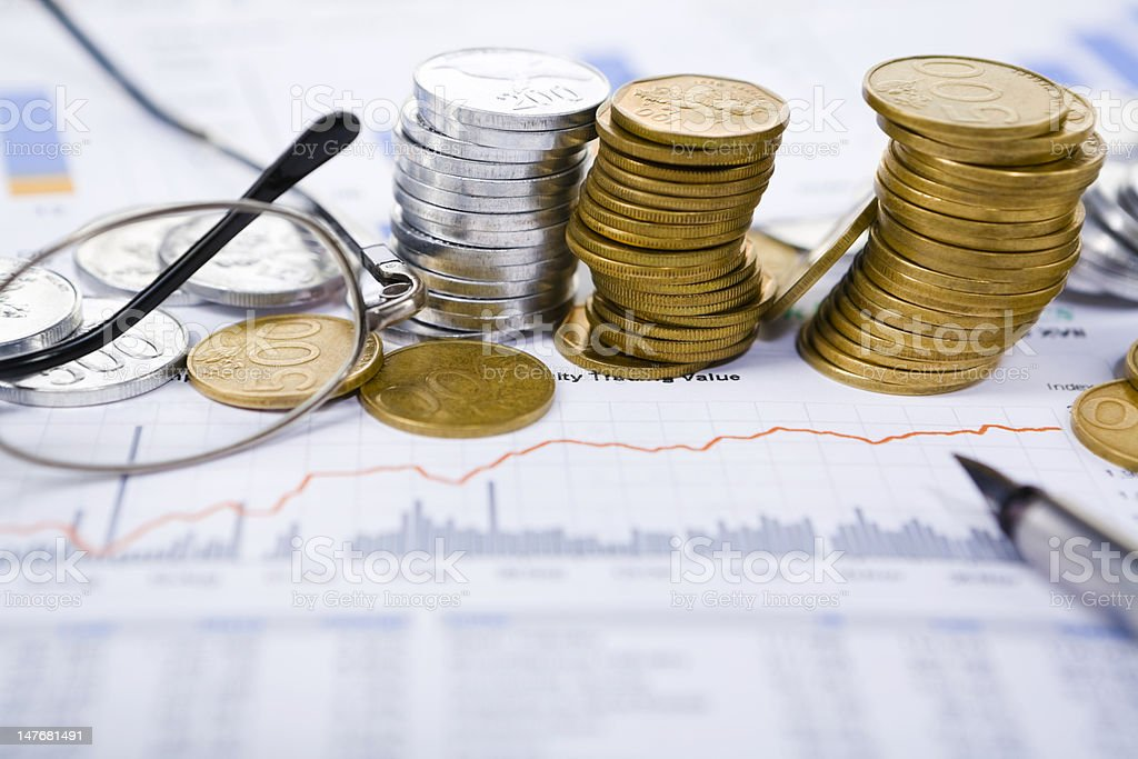 Investment growth royalty-free stock photo