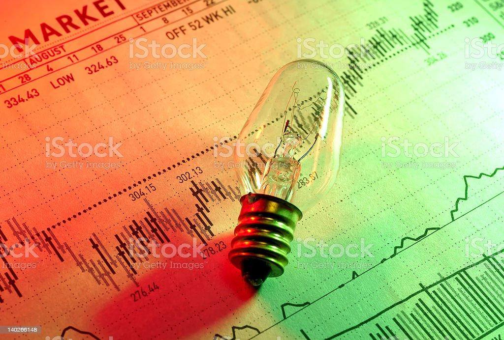 Investment Ideas stock photo