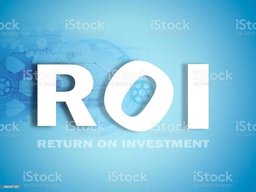 investment performance indicator stock photo