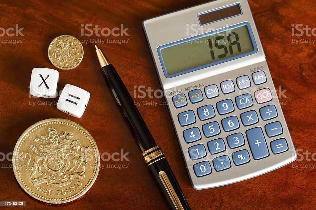 ISA Investment royalty-free stock photo
