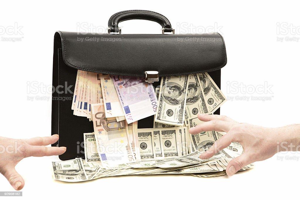 Investment Portfolio royalty-free stock photo
