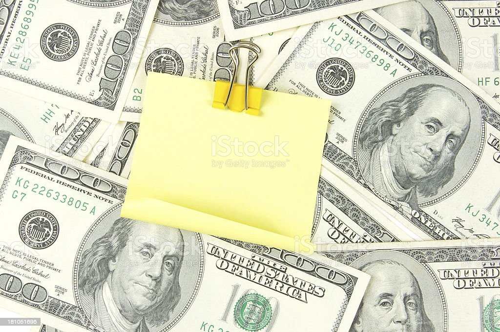 Investment Reminder royalty-free stock photo