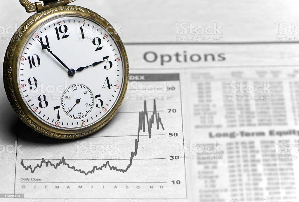 Investment Timing stock photo