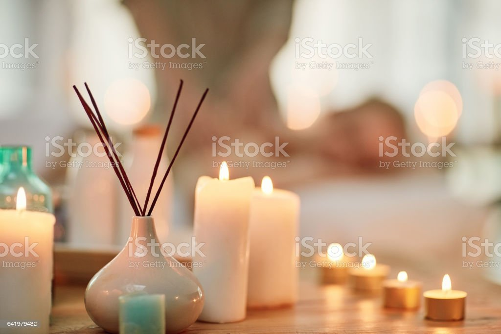 Invigorate your senses with a day at the spa stock photo