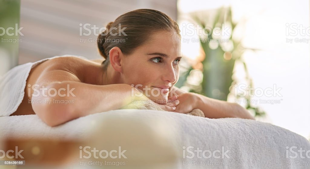 Invigorating the mind and body stock photo