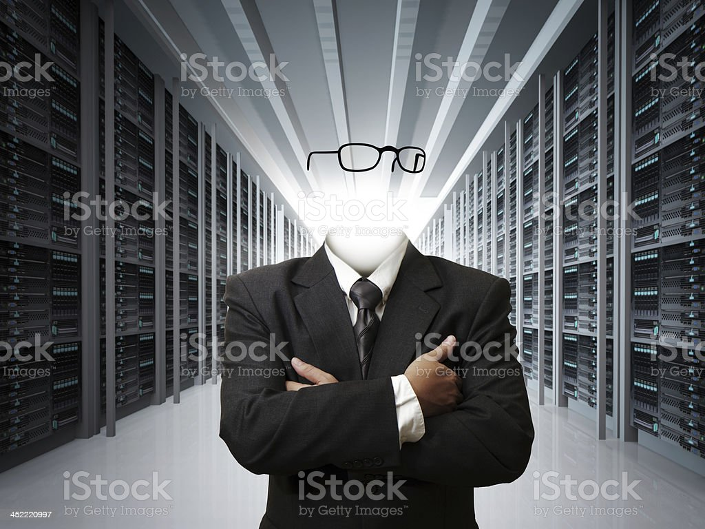 invisible business man concept royalty-free stock photo