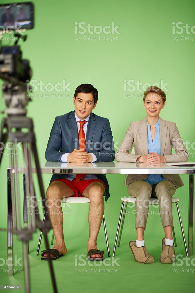 Invisible for viewers stock photo