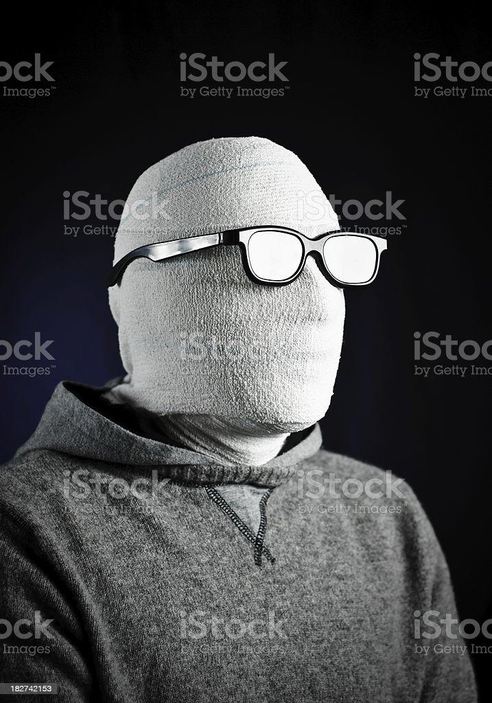 Invisible Man royalty-free stock photo