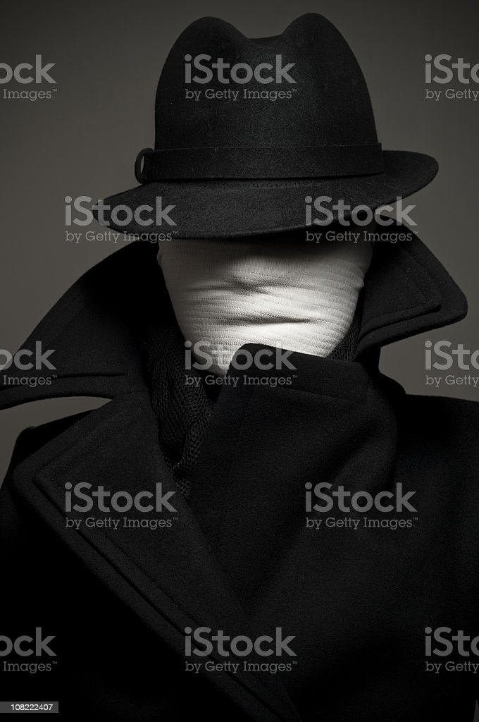 invisible woman royalty-free stock photo