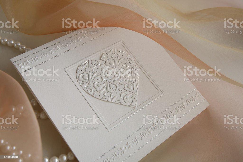 invitation card 7 royalty-free stock photo