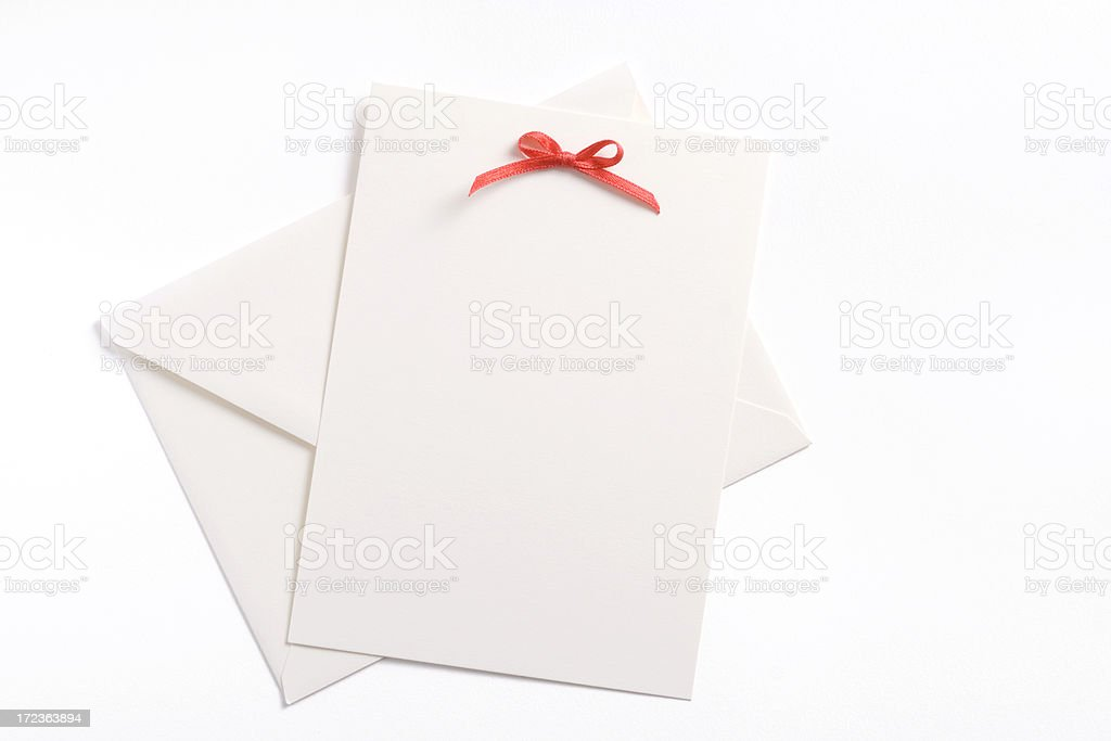 Invite royalty-free stock photo