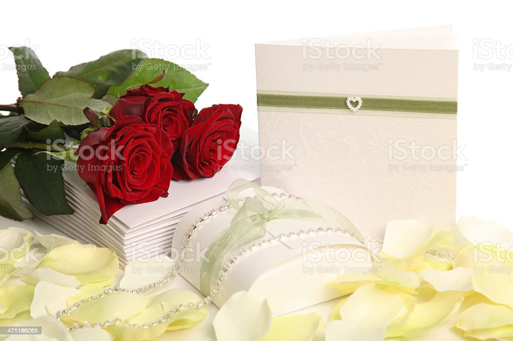 Invited to a Wedding royalty-free stock photo