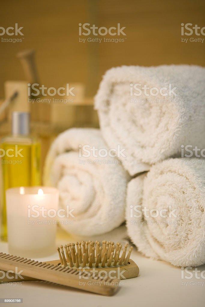 Inviting spa royalty-free stock photo