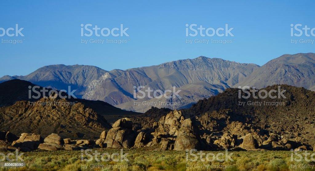 Inyo Mountains Angle stock photo