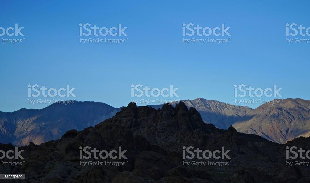 Inyo Mountains stock photo