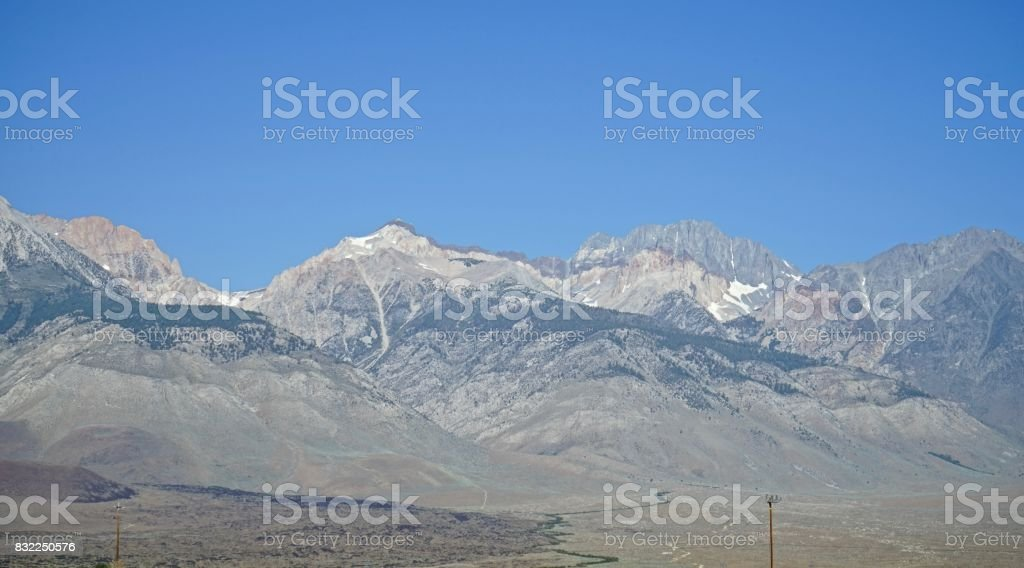 Inyo National Forest Edge stock photo