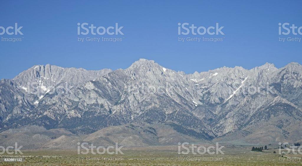 Inyo National Forest High Ridge stock photo