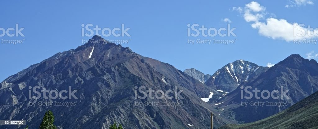 Inyo National Forest stock photo