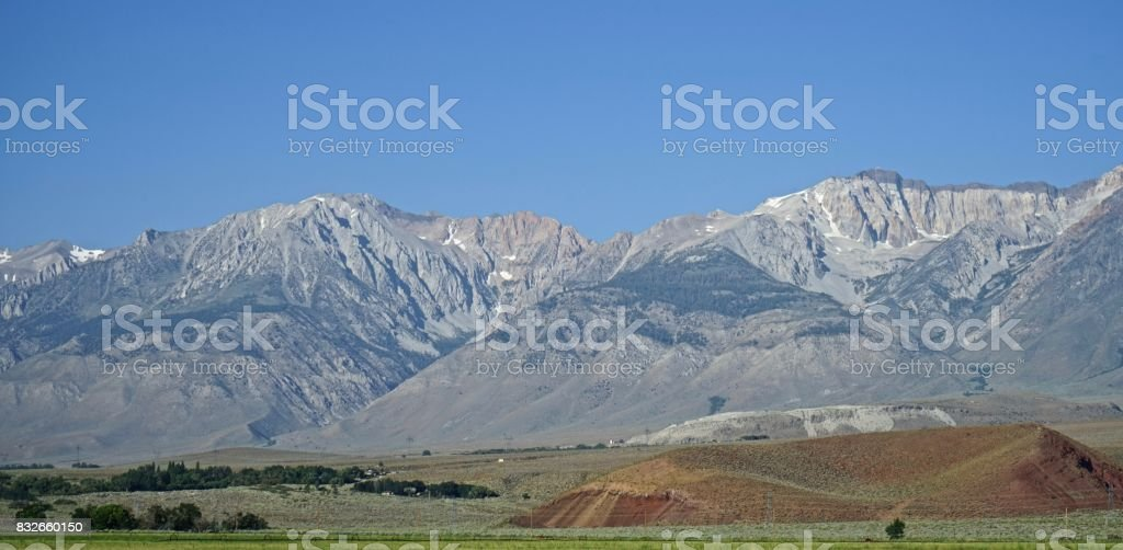 Inyo National Forest Tough Terrain stock photo