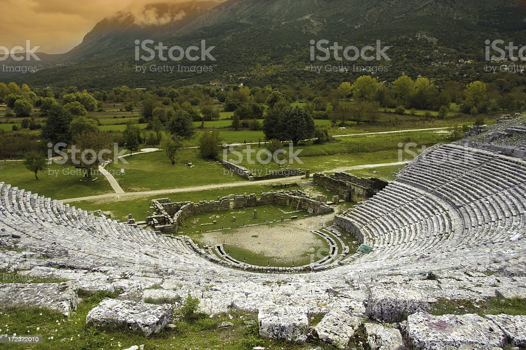 Ioanina Amphitheatre royalty-free stock photo