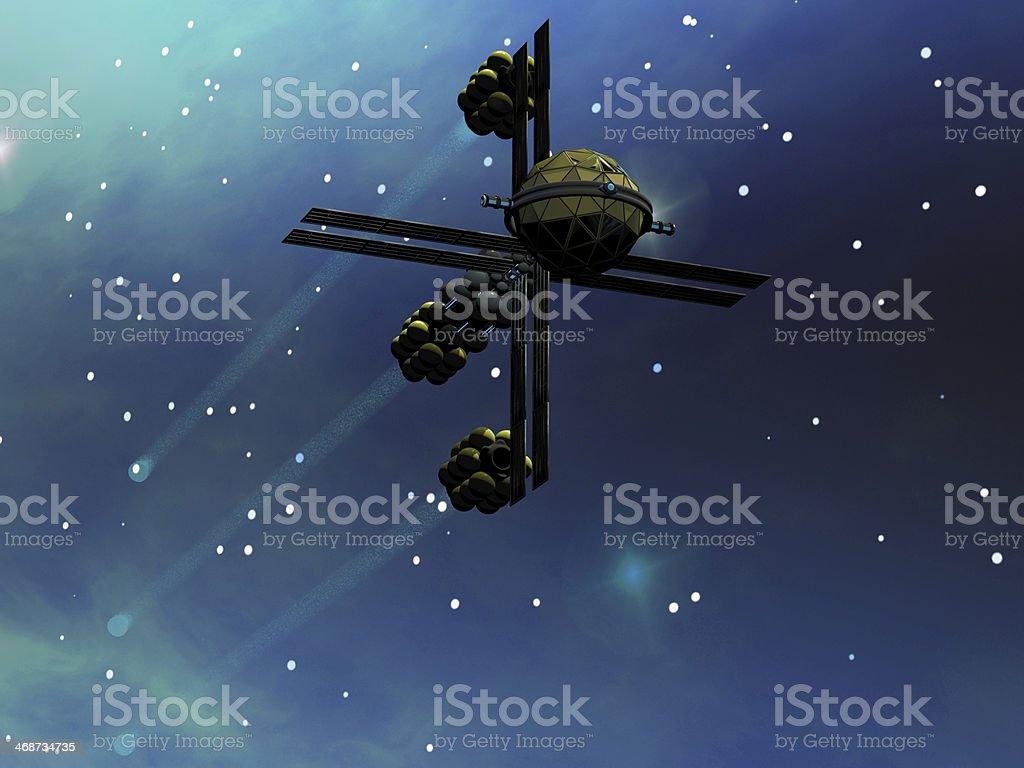 Ion Starcraft royalty-free stock photo