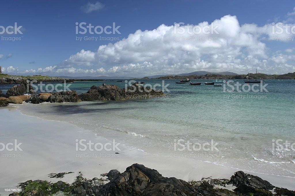 Iona Coast royalty-free stock photo